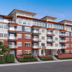 Port Coquitlam New Condos - photo of new building called Pointe in downtown