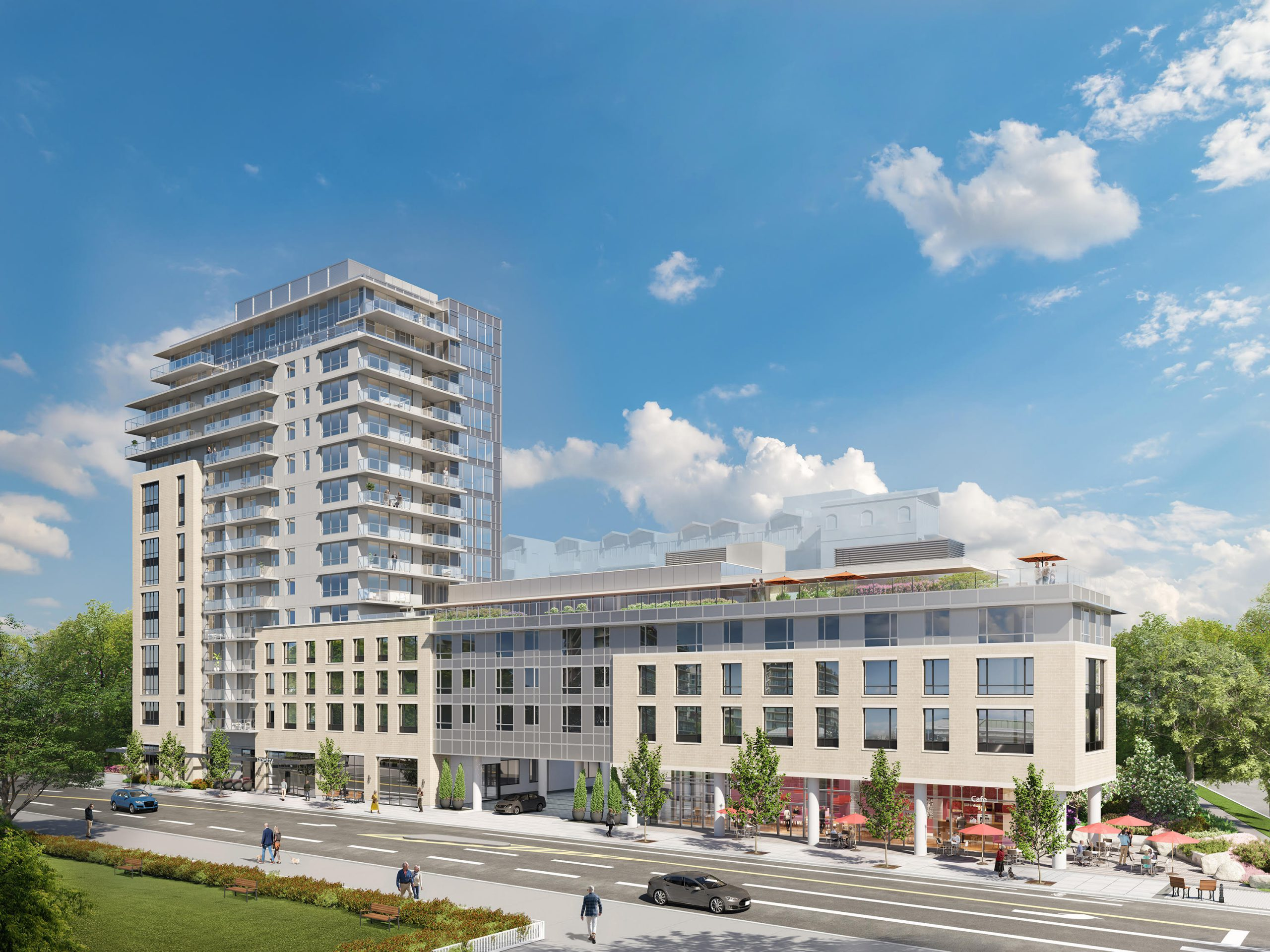 Rendering Of Tapestry A New Development In Victoria
