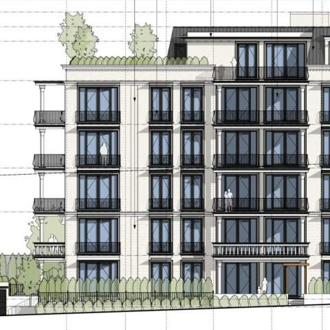 By The Bay New Downtown Condos Rendering Of Building