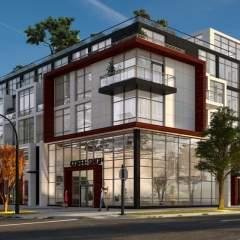 Langara House building rendering