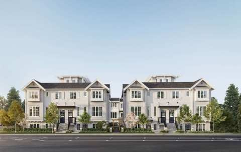 Rendering Of Eila Townhomes On Vancouver's West Side