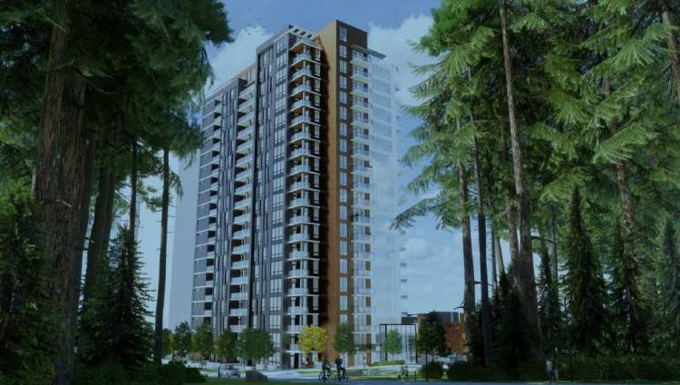 The Conservatory New Condo building at UBC