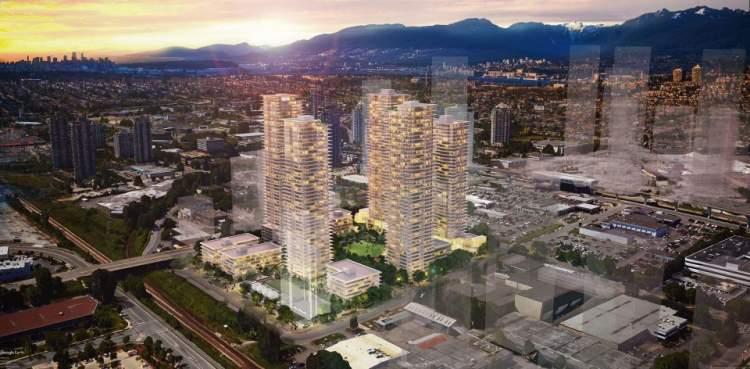 The Grove new condo development in Burnaby plan