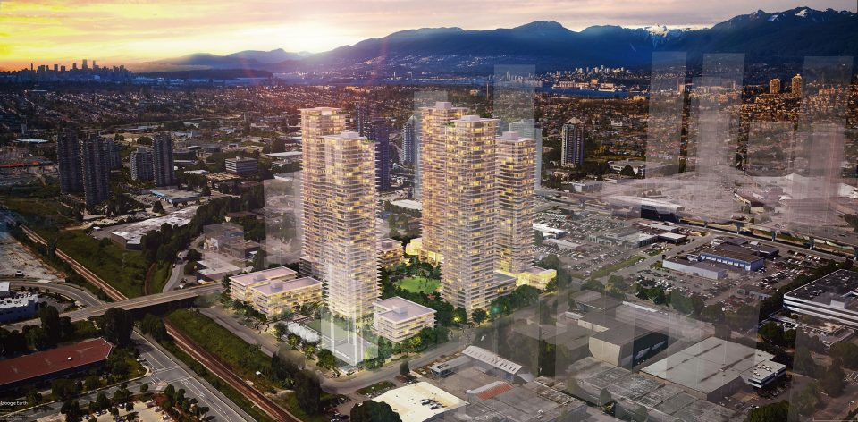 The Grove New Condo Development In Burnaby Plan