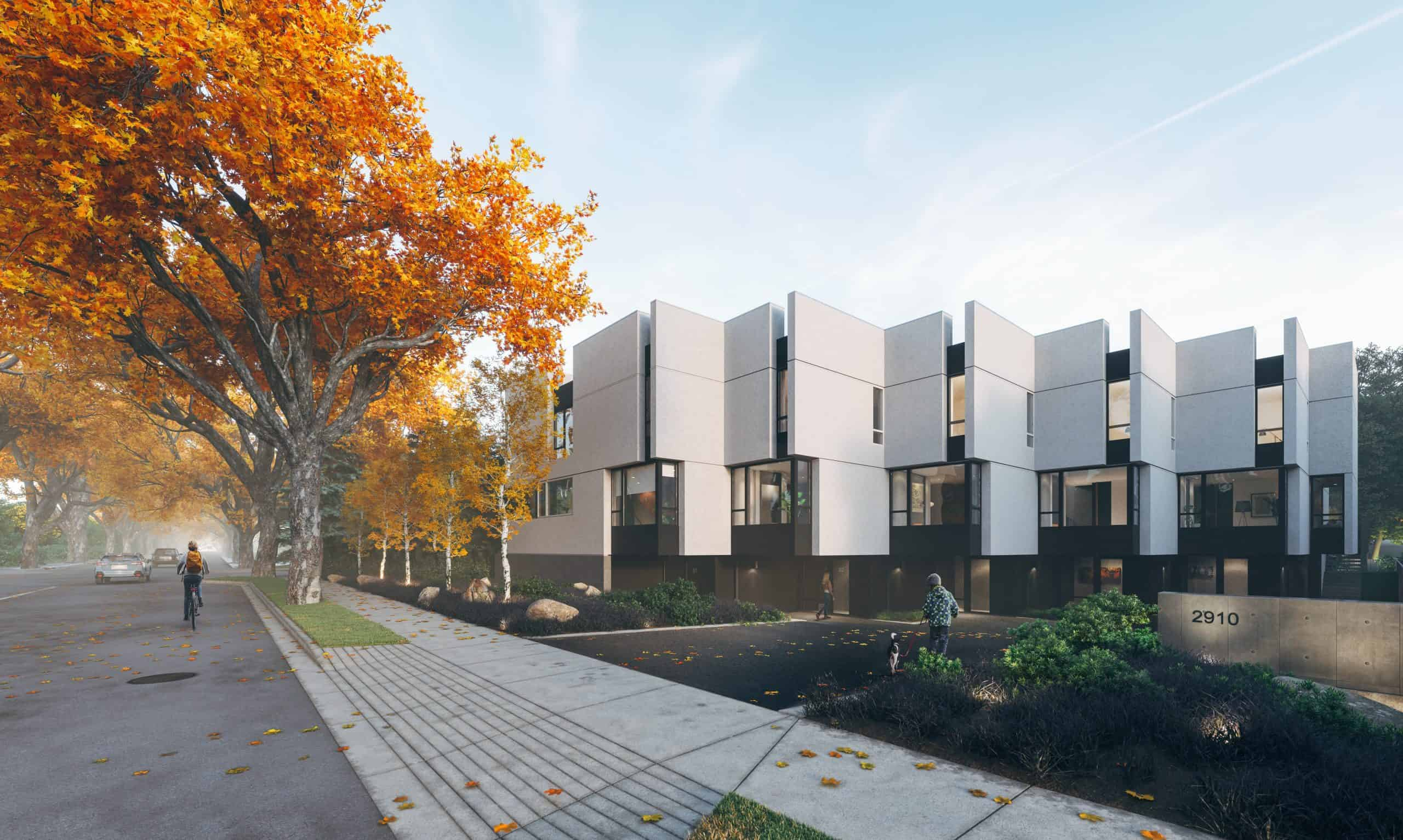 Photo Of Pearl Block Townhomes In Victoria BC