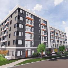 Rendering of Haven - a 6 storey new condo development in Victoria BC
