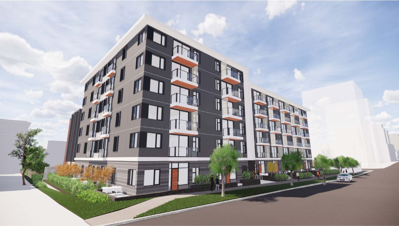 Rendering Of Haven - A 6 Storey New Condo Development In Victoria BC