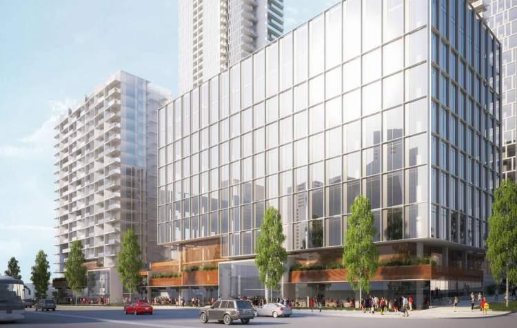 Rendering of Holland Parkside development