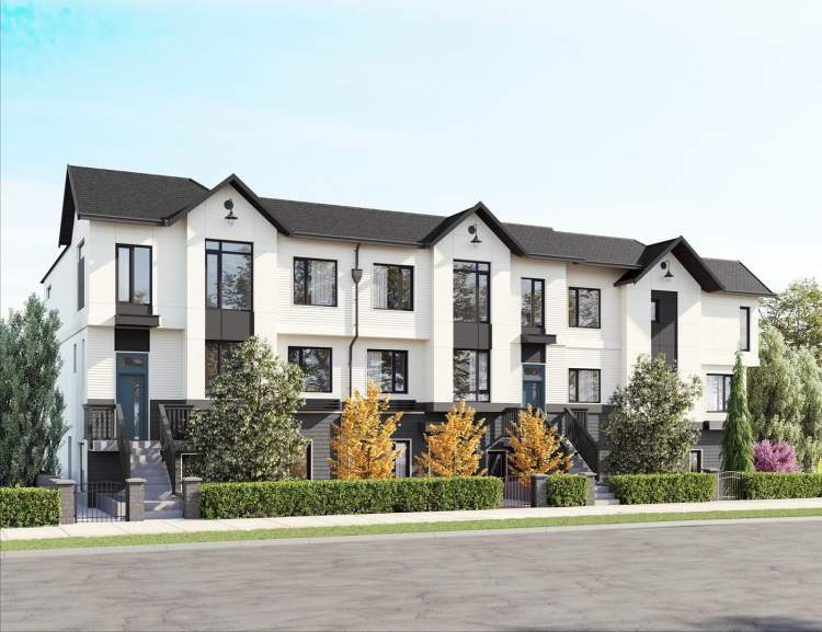 A photo of The Hillcrest, a new condo and townhome development