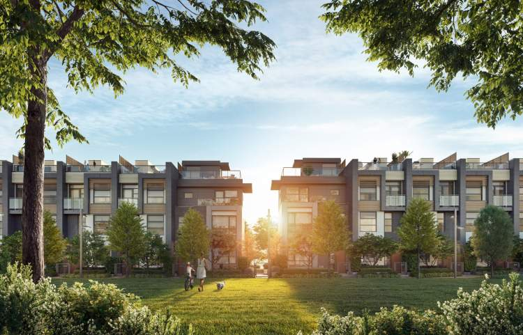 Photo of Kin Collection Townhomes Burnaby