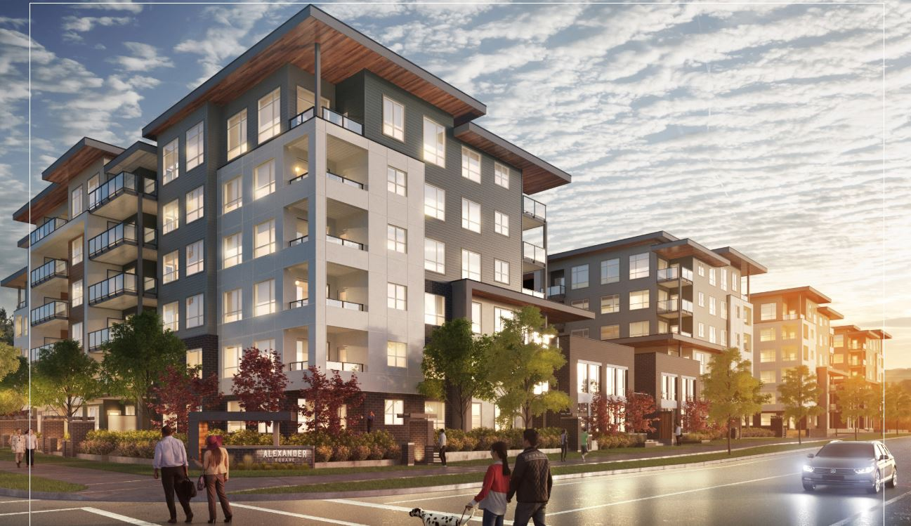 Photo Of Alexander Square Development In Langley