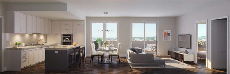 Interior layout of Aster Homes, South Granville