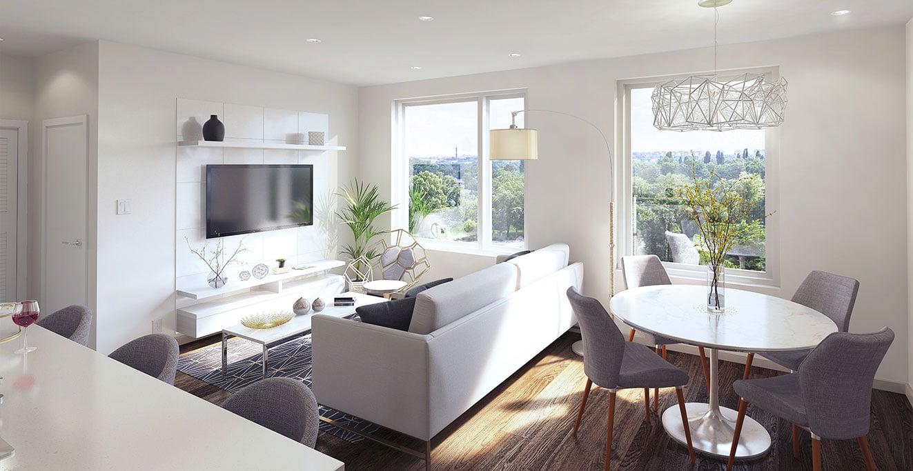 Rendering Of Soma Living Room