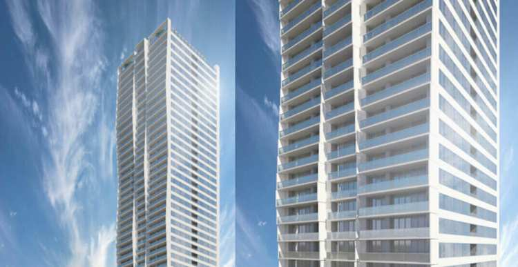 6075 Wilson Avenue redevelopment photo of new tower