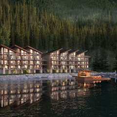 View of Lakeside at Cultus Lake Condos