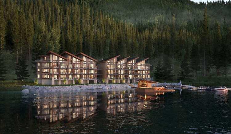 View of Lakeside at Cultus Lake Condos