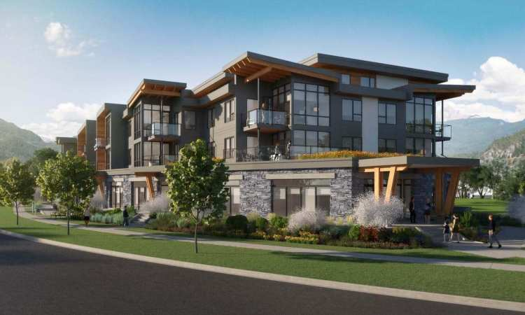 Rendering of The Wilfred Squamish Condos