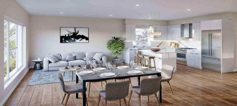 Rendering Of Estella Living Area In PoCo