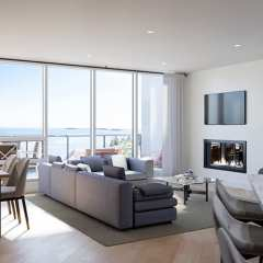 Rendering of the The Westerly living area