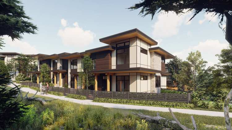 Rendering of 6438 Byrnepark Townhouses