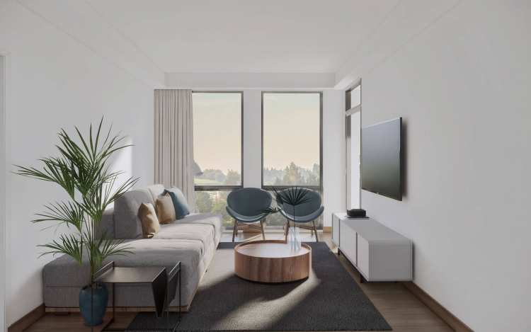 Rendering of Alto Living Room