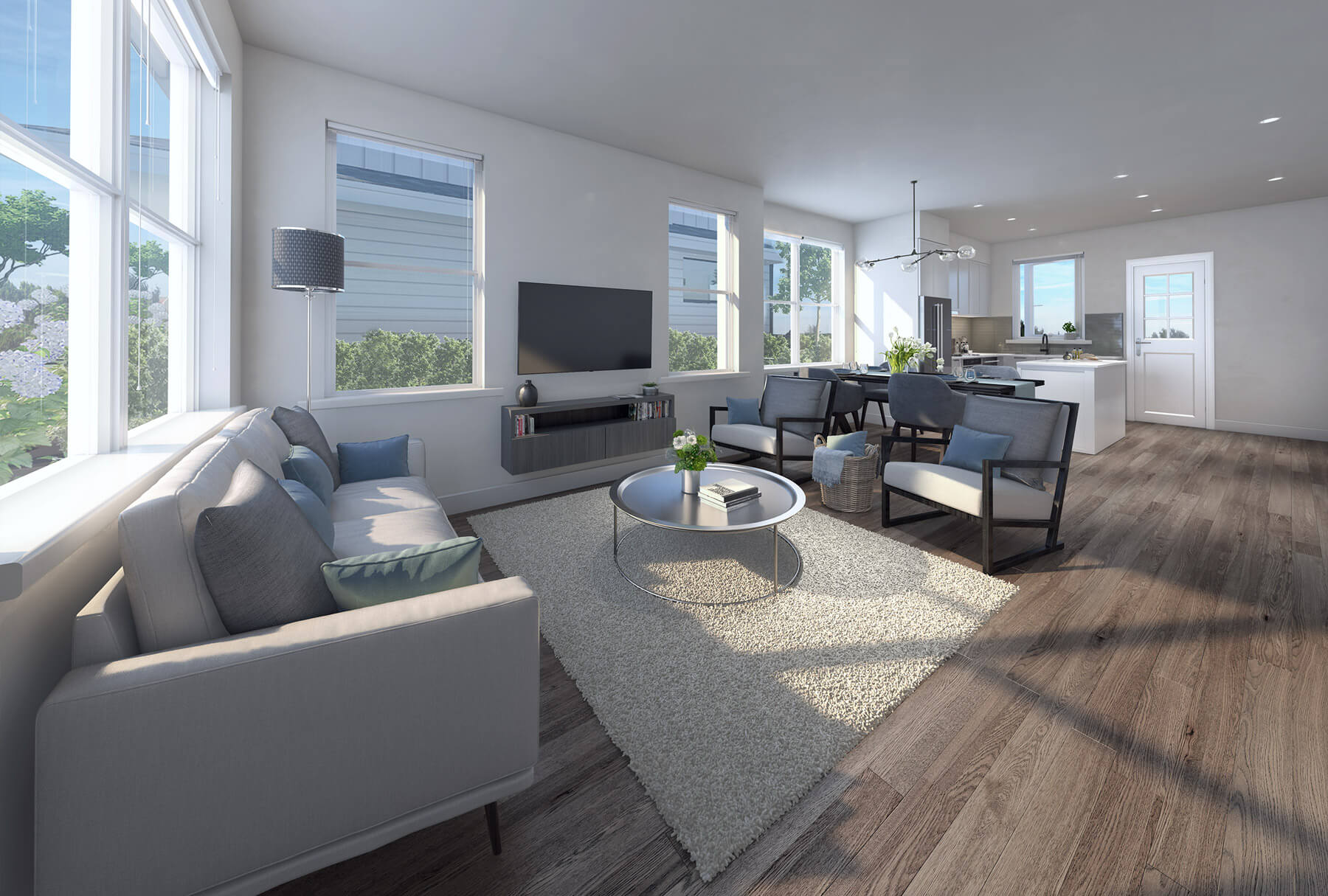 Rendering Of Arcola Living Room