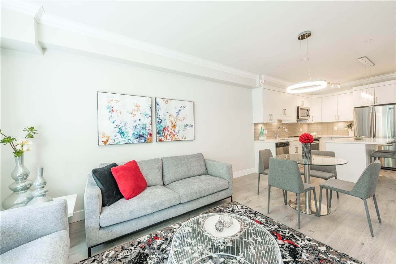 Rendering Of Aspire Living Room In Surrey