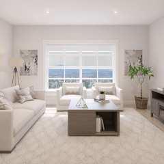 Rendering of Brickwater Living Room in Maple Ridge