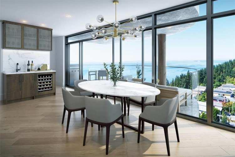 Rendering of Fantom dining room views
