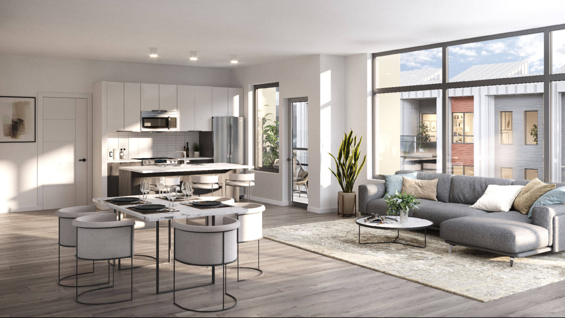 Rendering Of Genesis Condos Interior