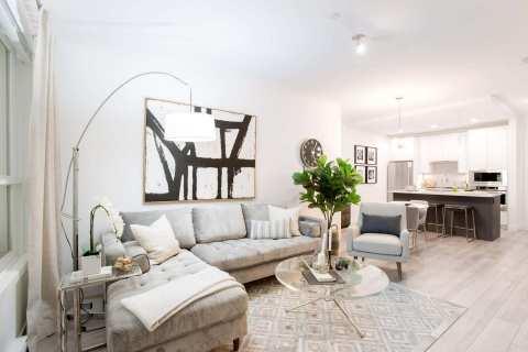 Rendering Of Highpointe Living Room In Maple Ridge