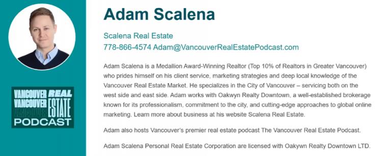Adam Scalena bio