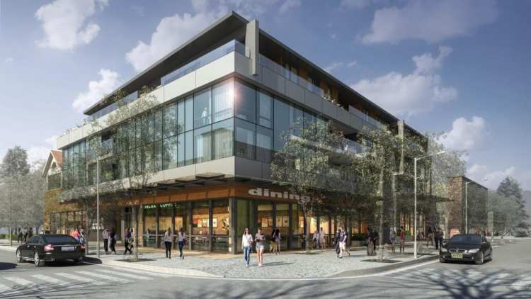 Rendering of building - Elm41 On Vancouver's West Side