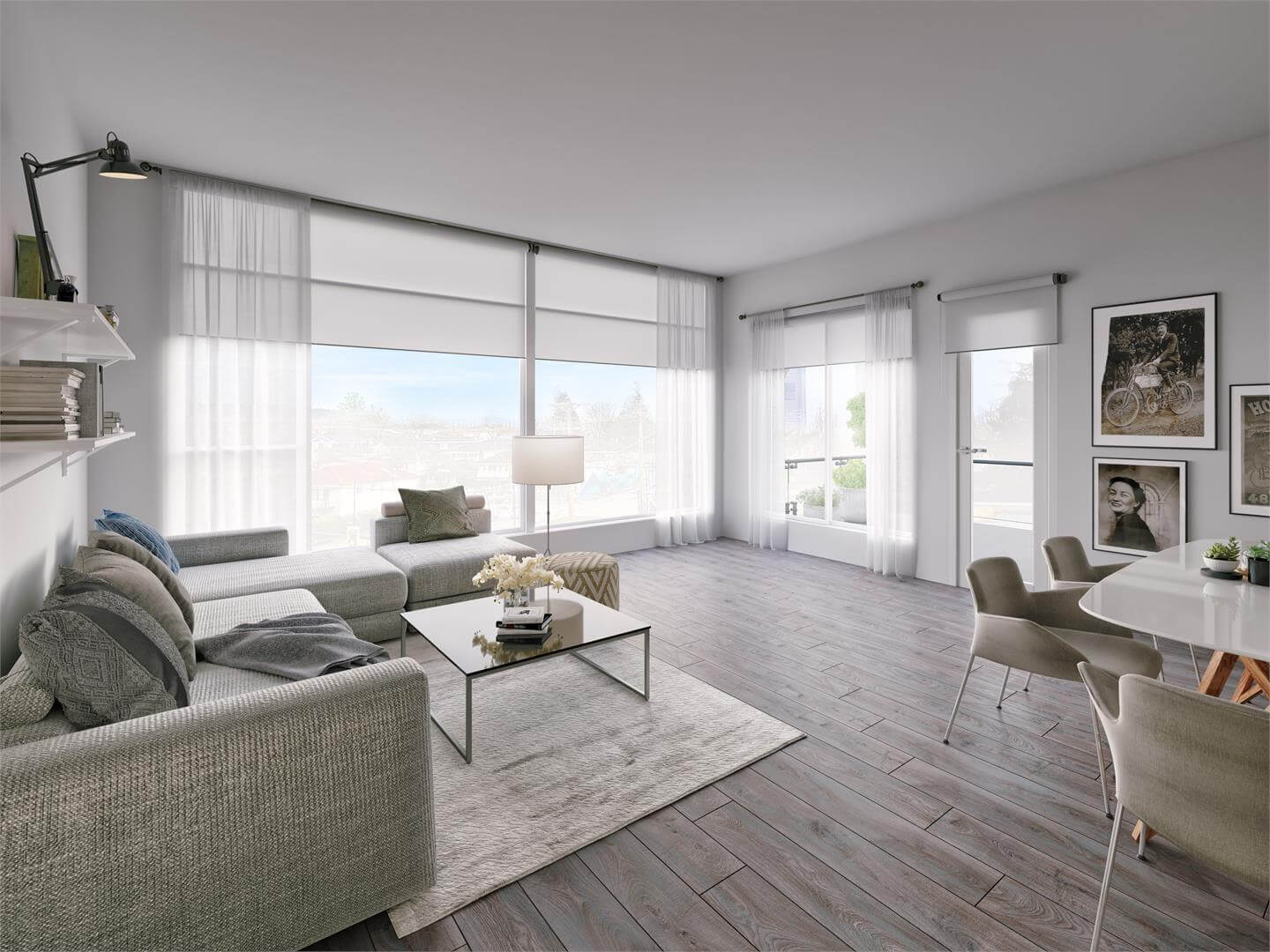 Rendering Of Forte Living Room