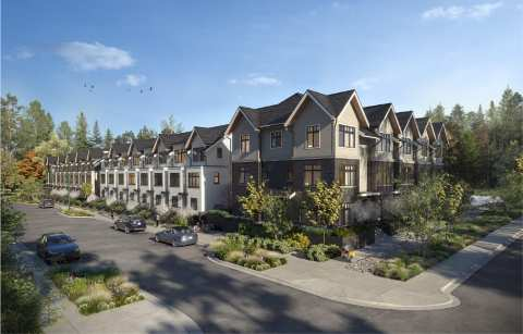 Rendering Of Holland Row Townhomes