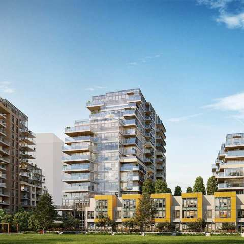 Rendering Of Park Residences II Towers