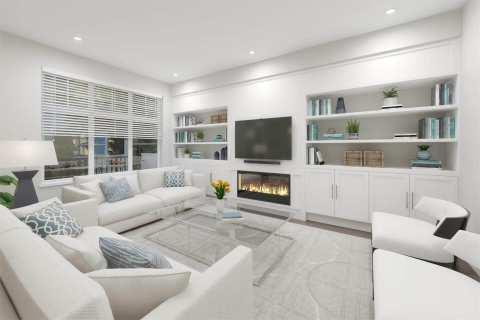 Rendering Of Tribute Living Room
