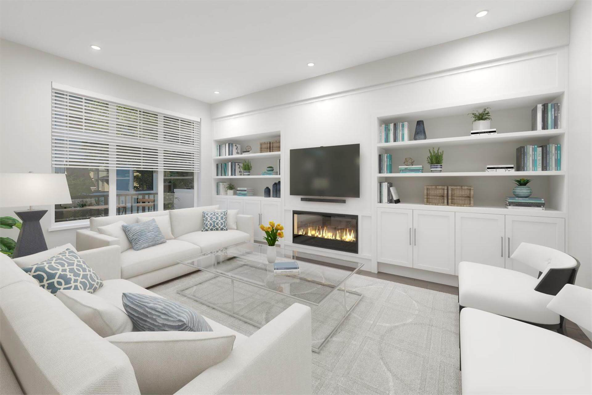 Rendering Of Tribute Living Room