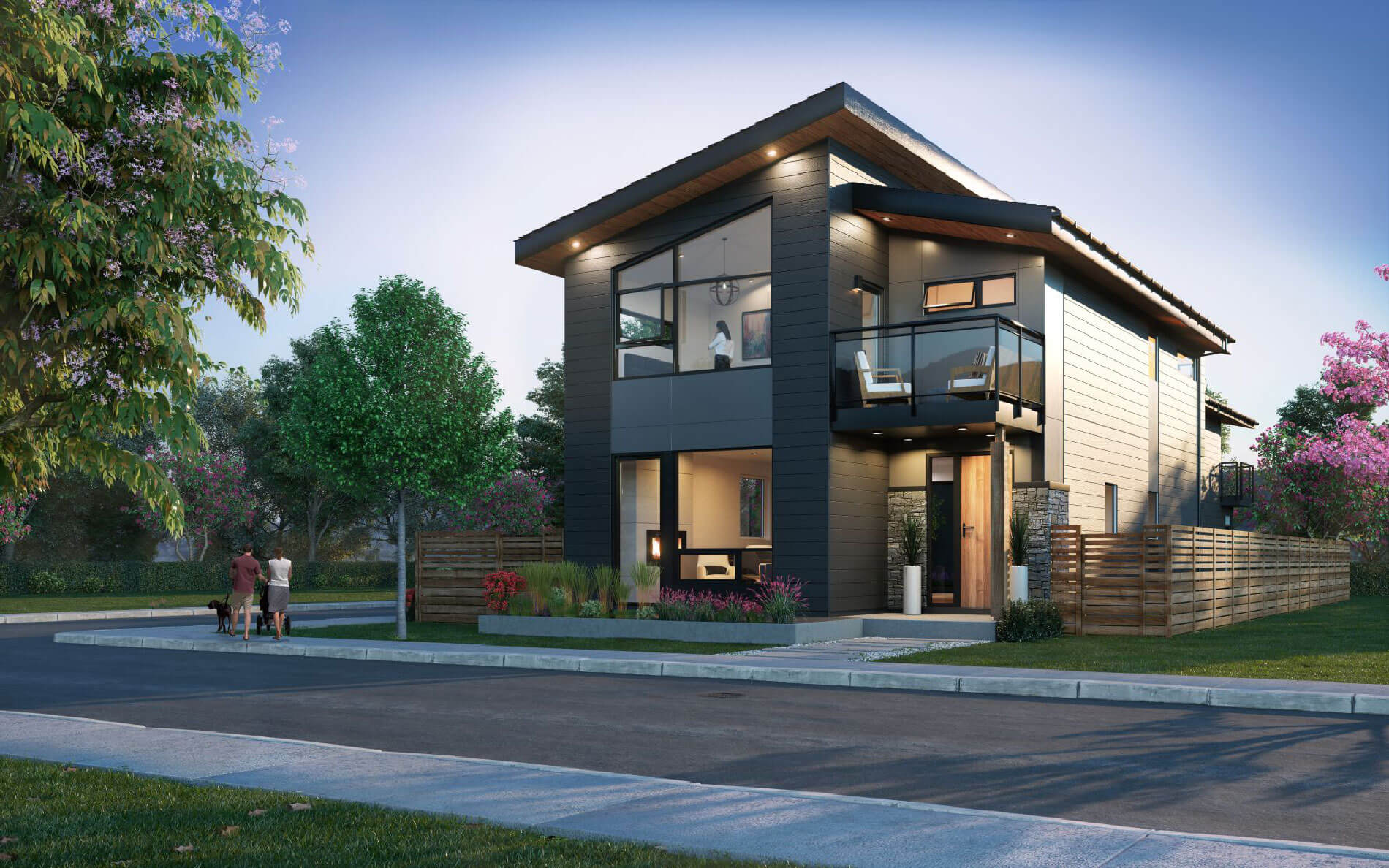 Rendering Of West Coast Estates Single Family Home