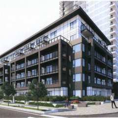 Rendering of JINJU condo design