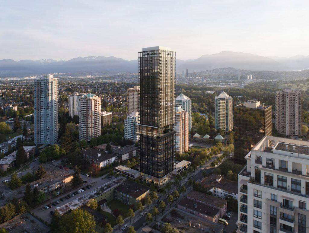 Rendering Of Central Park House Development - Aerial View