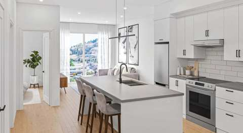 Rendering Of Cawston Kitchen In Kelowna