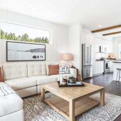 Rendering of Fleetwood Village Living Room