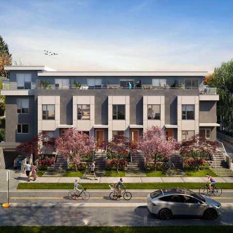 Rendering Of Kai Kitsilano On Vancouver's West Side