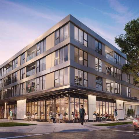 Rendering Of Monument Kitsilano By Epta Properties On Vancouver's Westside