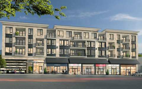 Rendering Of 4-storey Building - Siena At The Heights