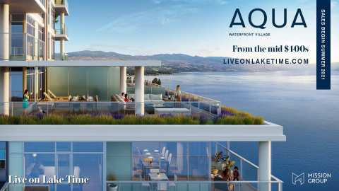 Rendering Of Aqua Waterfront Village Homes