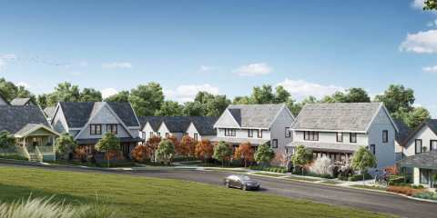 Rendering Of Laval Homes - Coquitlam New Community