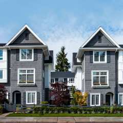 Rendering of The Great One townhomes in Surrey