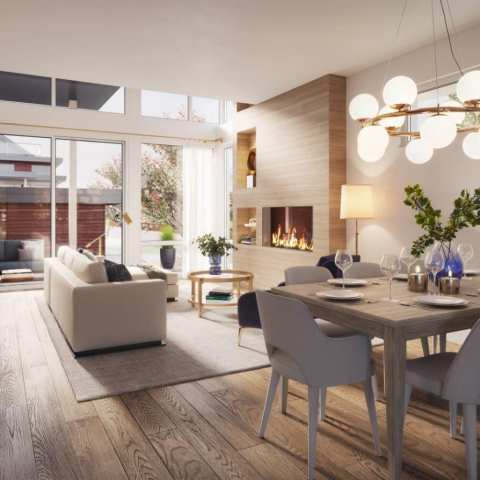 Rendering Of Venda Dining And Living Space